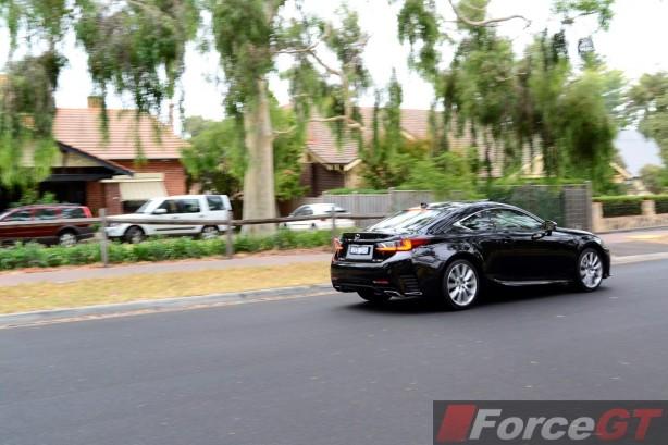 2015 Lexus RC 350 Sports Luxury rear quarter-1