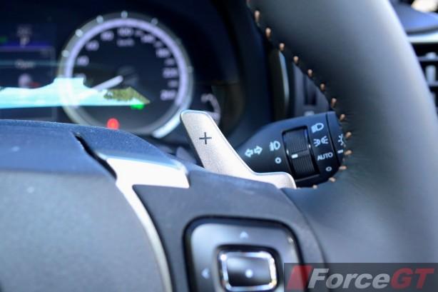 2015 Lexus RC 350 Sports Luxury steering wheel paddle