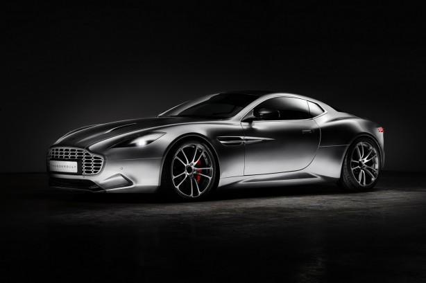 Aston Martin Thunderbolt by Henrik Fisker front quarter