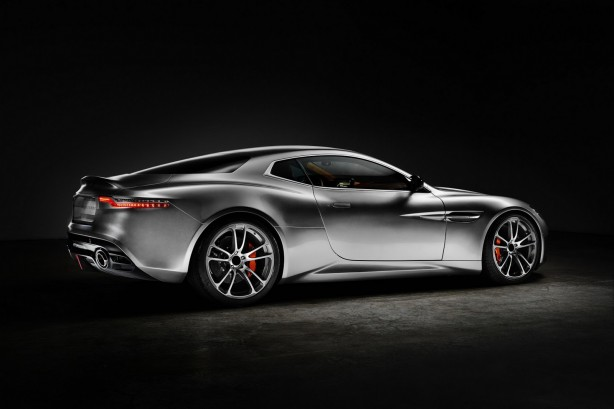 Aston Martin Thunderbolt by Henrik Fisker rear quarter