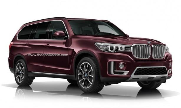 BMW X7 render front quarter