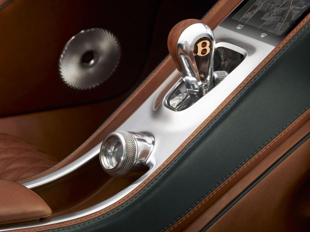 Bentley EXP 10 Speed 6 concept transmission