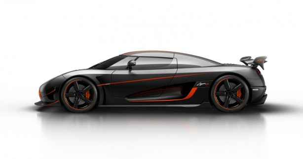Koenigsegg Agera RS side
