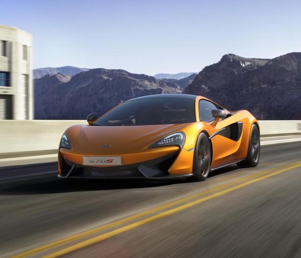 McLaren 570S Coupe front quarter