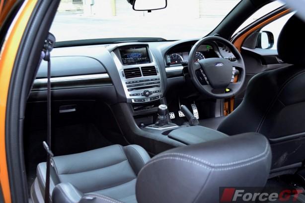 2015 Ford Falcon XR8 interior