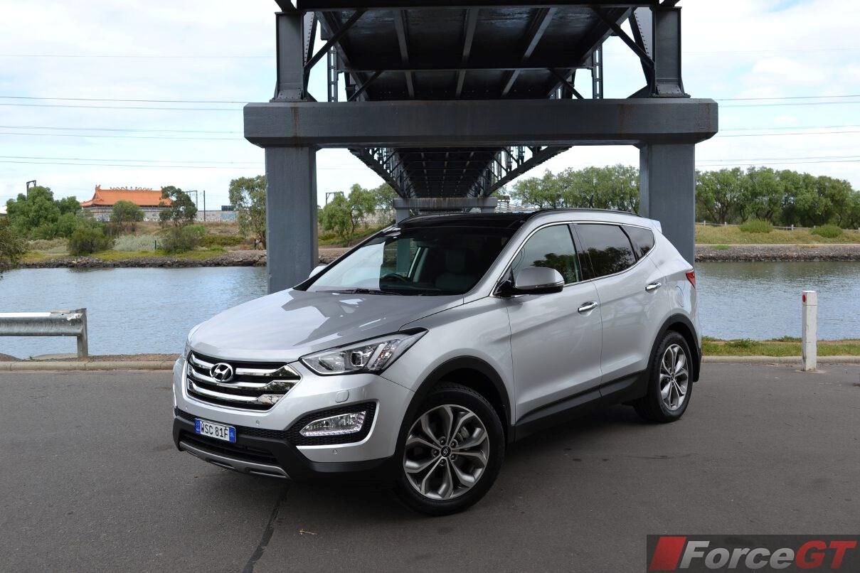 Tucson Dimensions 2017 >> Hyundai Santa Fe Review: 2015 Santa Fe