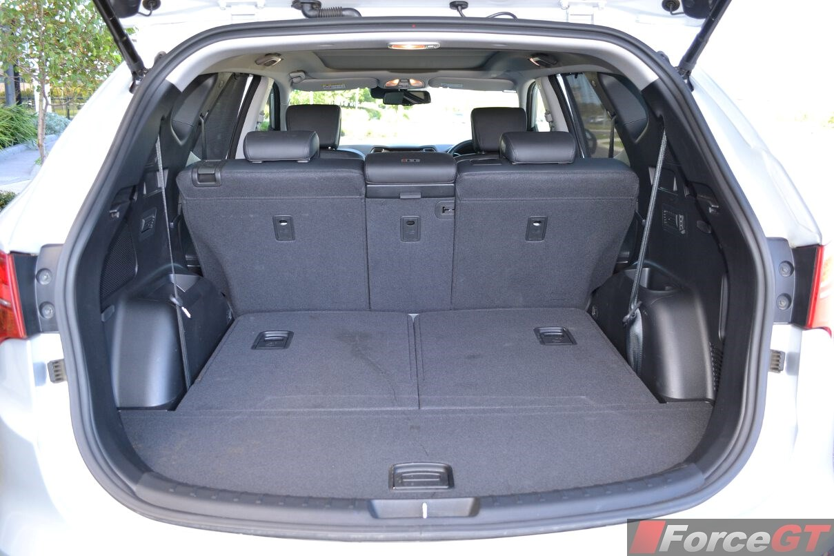 2015 Hyundai Santa Fe Third Row Seat Folded