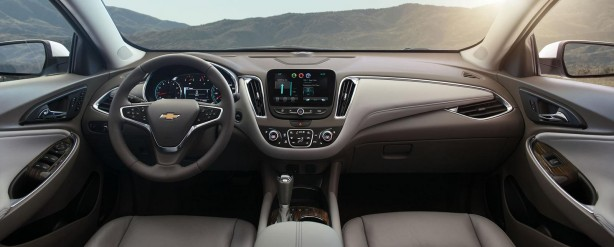 2016 Chevrolet Malibu dashboard