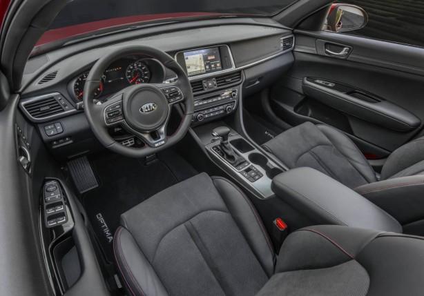 2016 Kia Optima interior