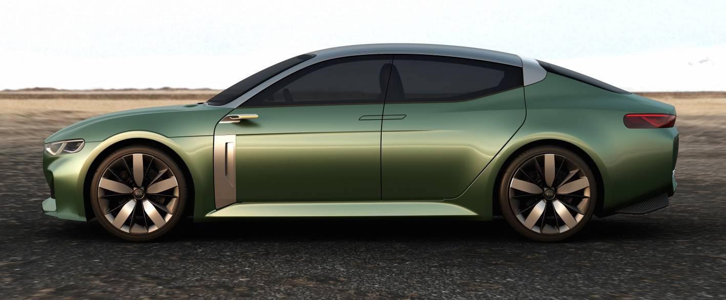 Kia Cars - News: Coupe-inspired Kia Novo concept unveiled
