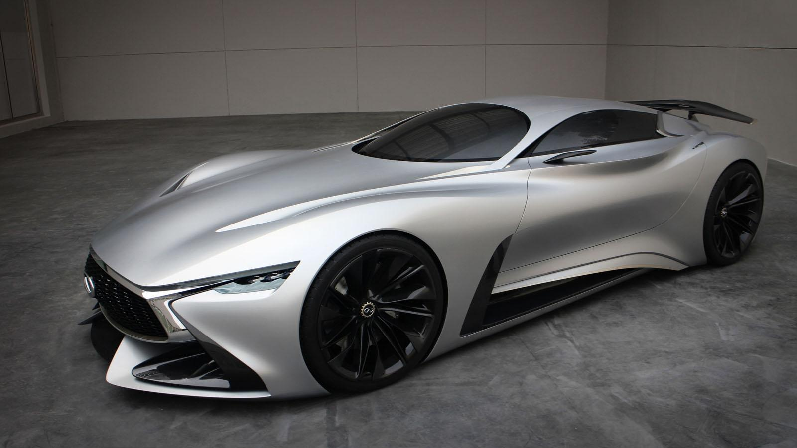 Luxury Vehicle: Infiniti Concept Vision Gran Turismo Brought To Life