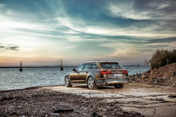 2015 Audi A6 Allroad quattro rear quarter