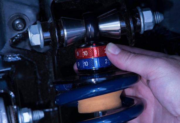 2016 Dodge Viper ACR adjustable dampers
