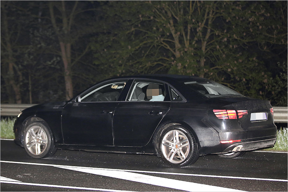 2016 Audi A4 Spied With Less Camouflage Forcegt Com