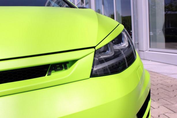 ABT tuned Volkswagen Golf R 400 headlight