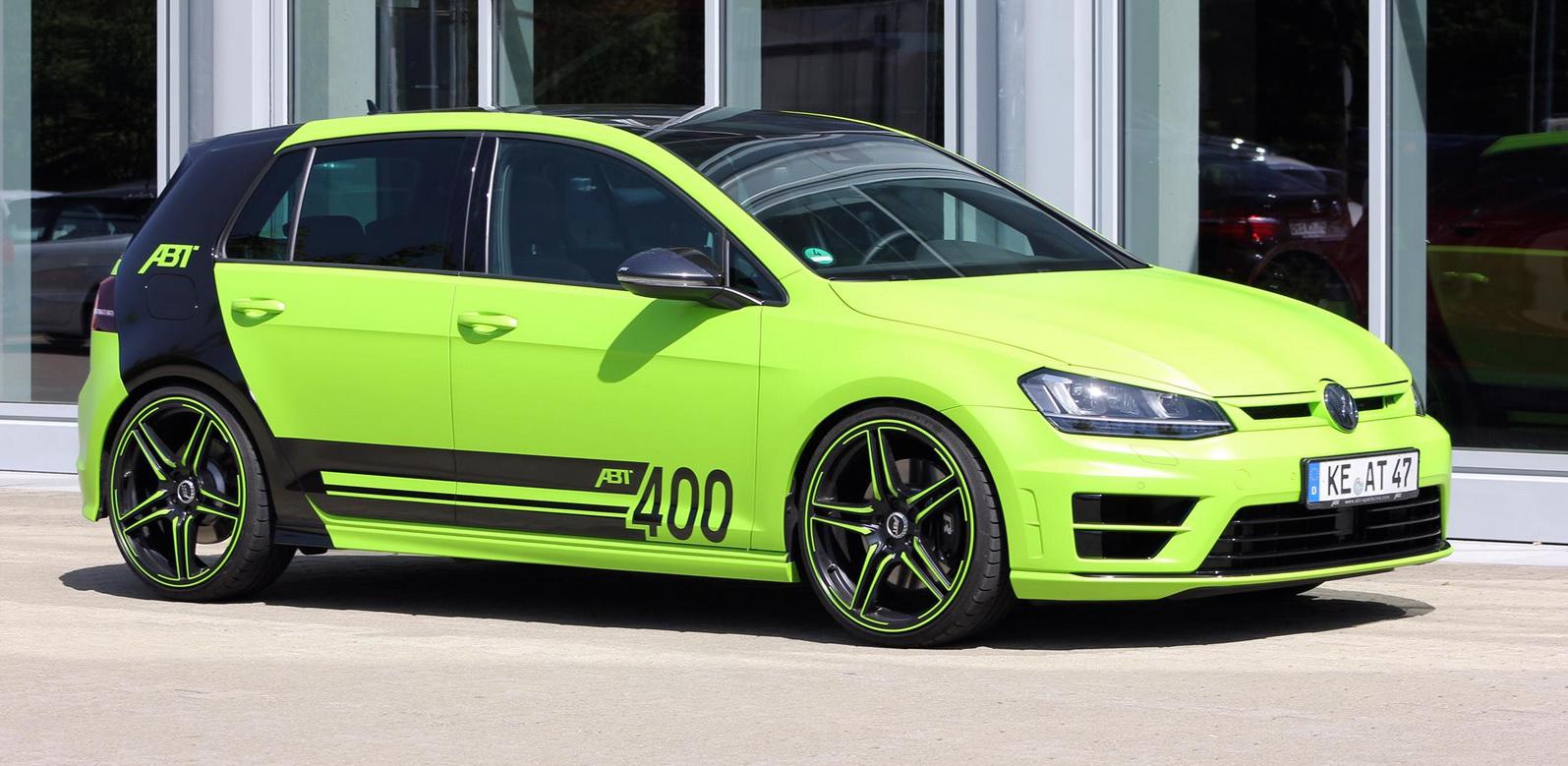 Volkswagen Tuning Abt Tuned Volkswagen Golf R Abt 400
