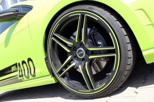 ABT tuned Volkswagen Golf R 400 wheel