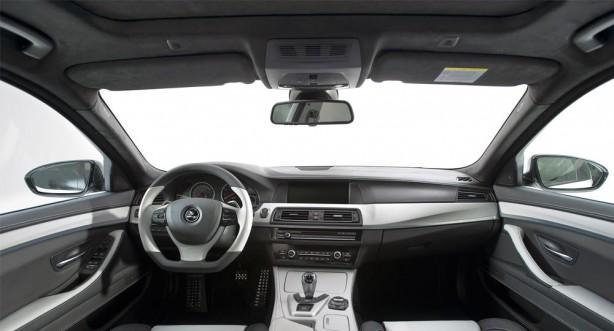 Hamann-tuned BMW M5 Mi5Sion interior