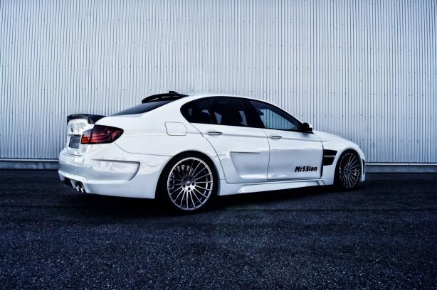 Hamann-tuned BMW M5 Mi5Sion rear quarter