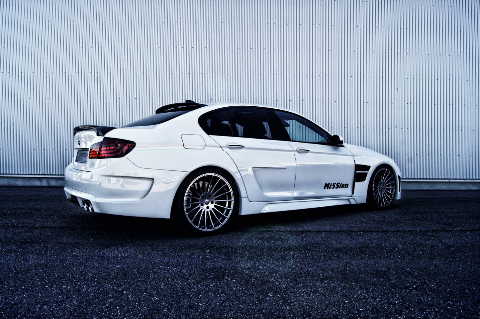 White 5 Series Bmw >> BMW Tuning: Hamann-tuned BMW M5 Mi5Sion