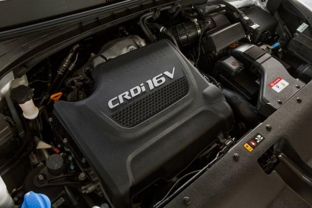 2015 Kia Sorento diesel engine