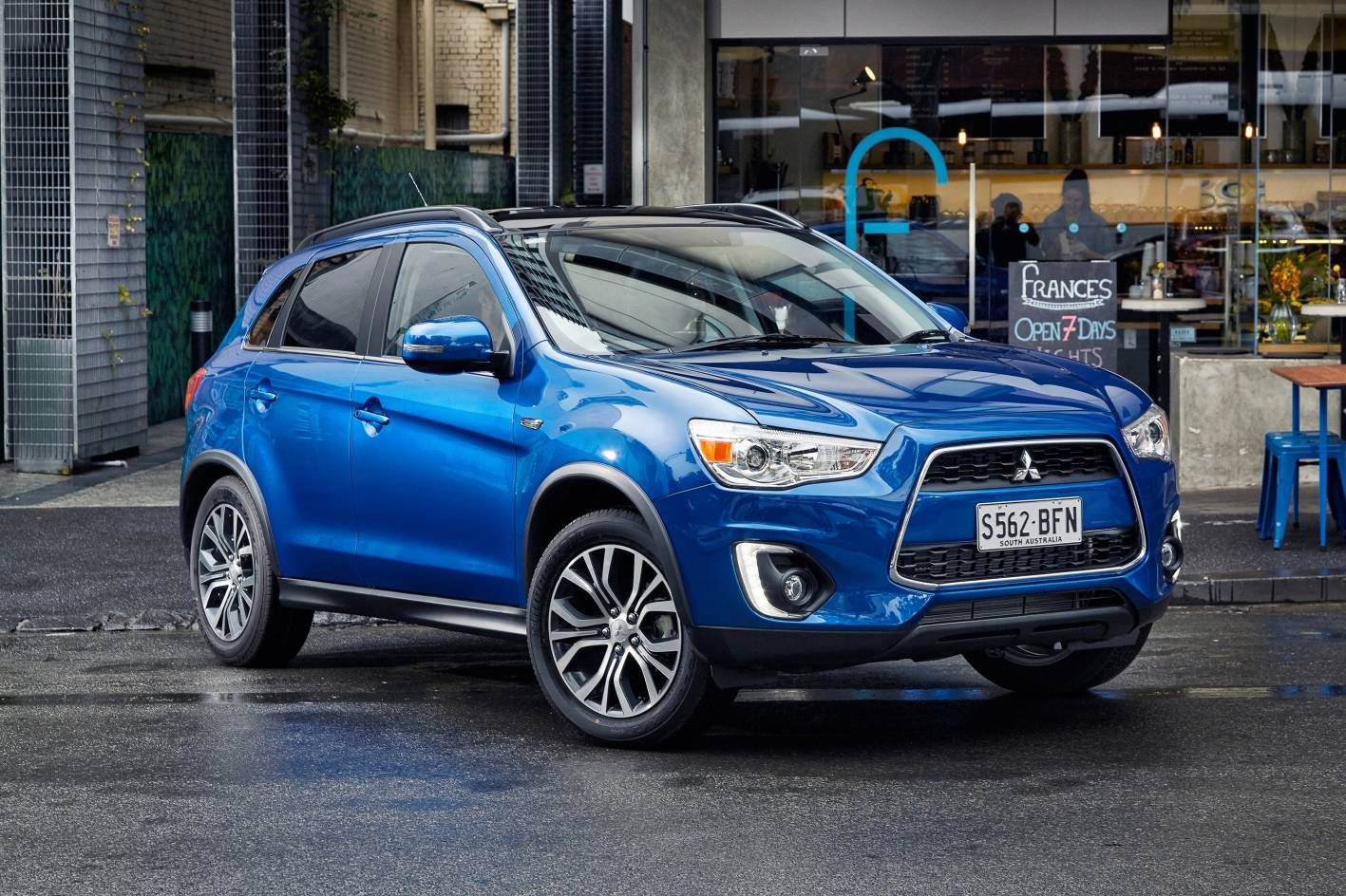 Styling tweaks and digital radio for 2015 Mitsubishi ASX ...