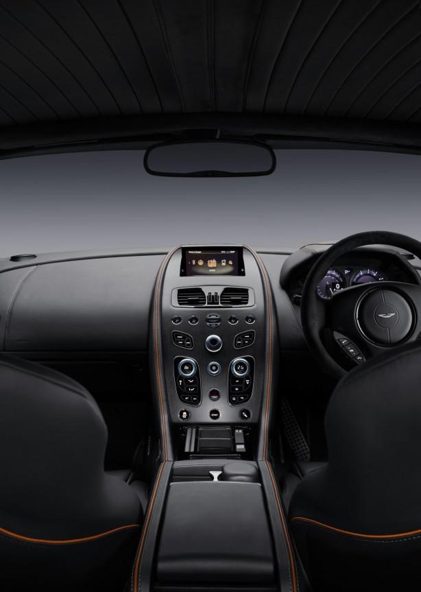 Aston Martin DB9 GT interior