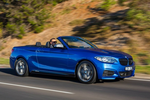 BMW M235i Convertible front quarter