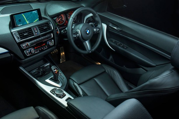 BMW M235i Convertible interior