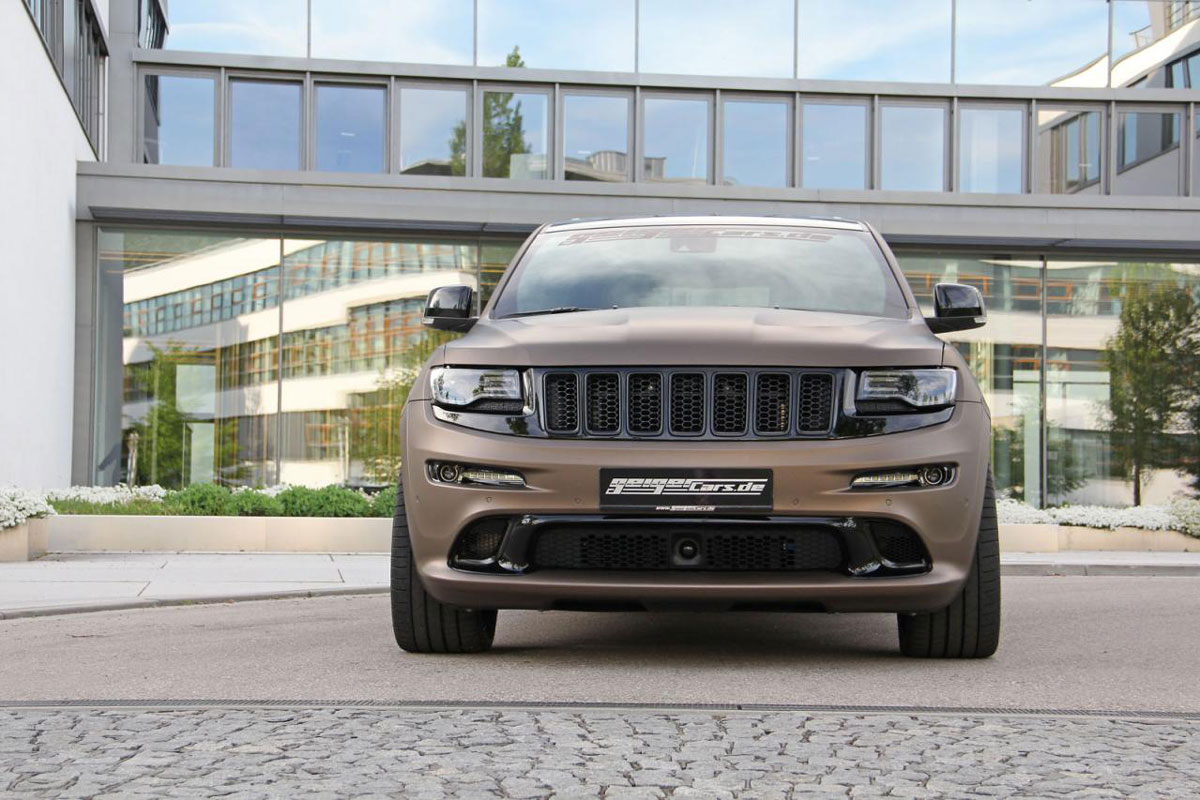 Jeep Grand Cherokee SRT8 supercharged by GeigerCars ...