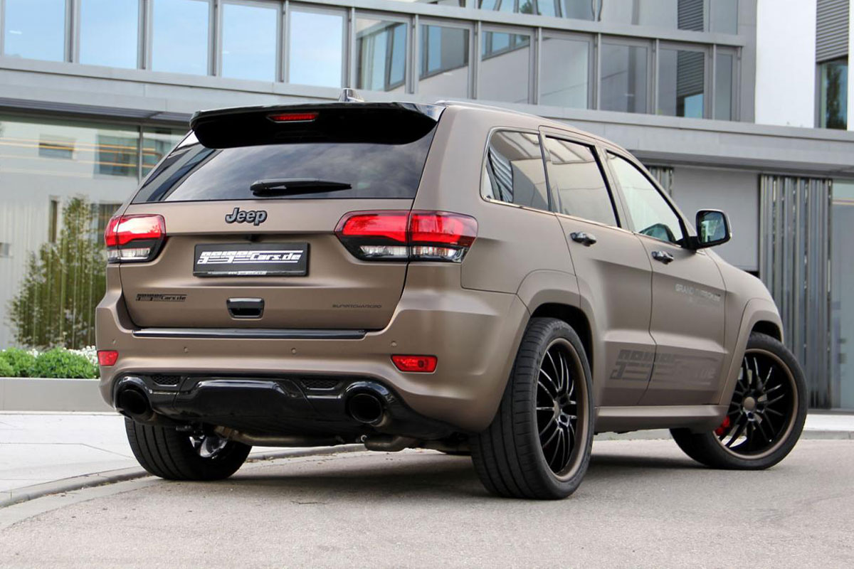 jeep cherokee srt 2018 vs