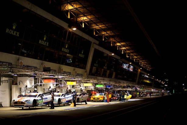 The five-car line up