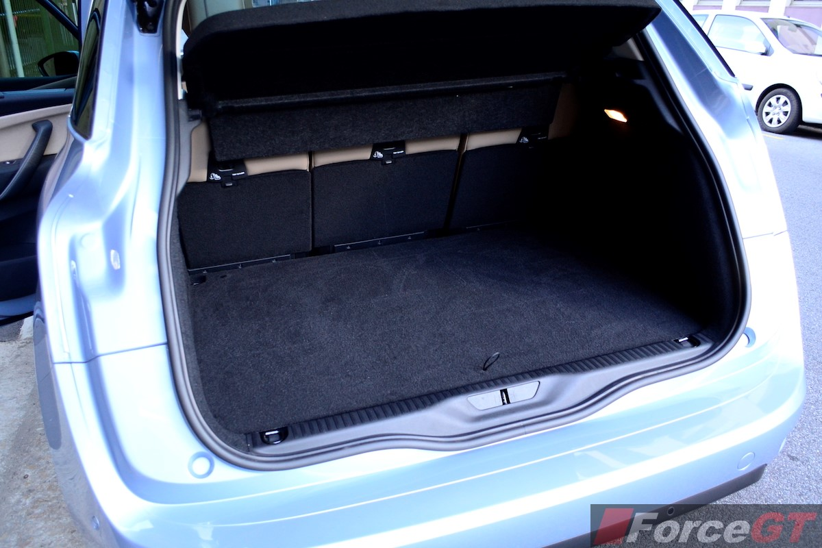 Citroen C Picasso Luggage Space