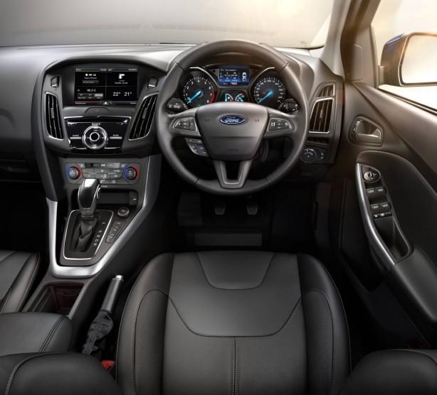 2015 Ford Focus interior