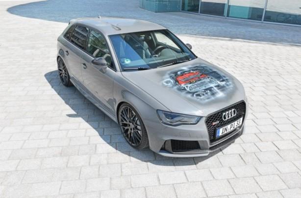 Audi Forum Ingolstadt Audi RS3 Sportback front quarter