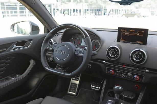 Audi Forum Ingolstadt Audi RS3 Sportback interior