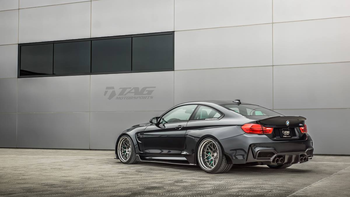 Bmw M4 Widened By Tag Motorsports Forcegt Com