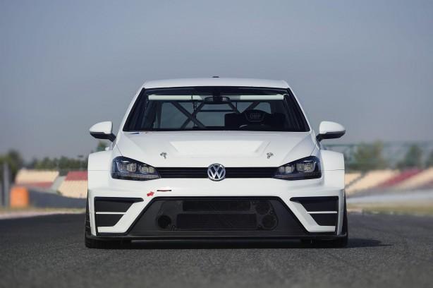 Volkswagen Motorsport Golf racing concept front