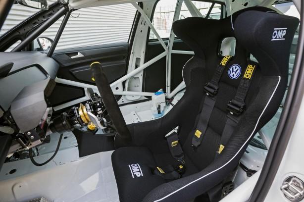 Volkswagen Motorsport Golf racing concept interior