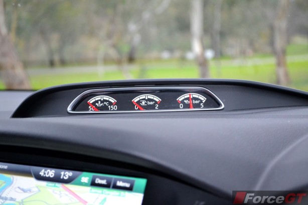 2015 Ford Focus ST anxiliary gauge