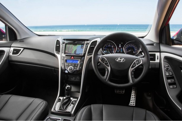 2015 Hyundai i30 dashboard