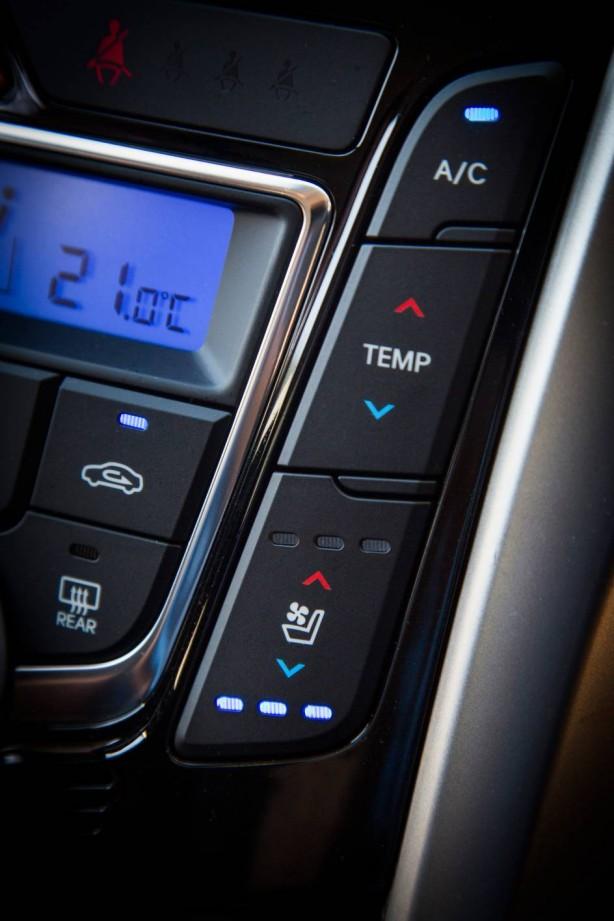 2015 Hyundai i30 seat ventilation