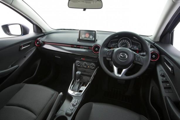 2015 Mazda2 sedan interior