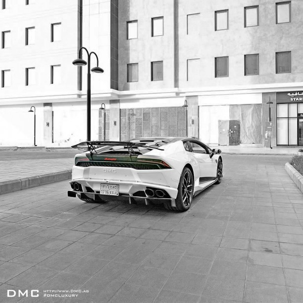 Lamborghini Huracan with DMC Stage 3 kit rear
