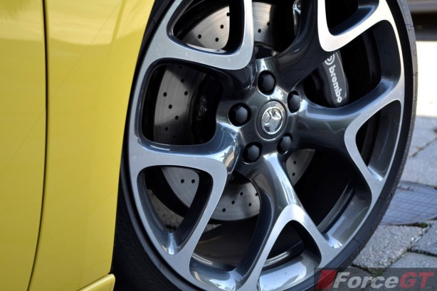 2015 Holden Astra VXR 20-inch alloys