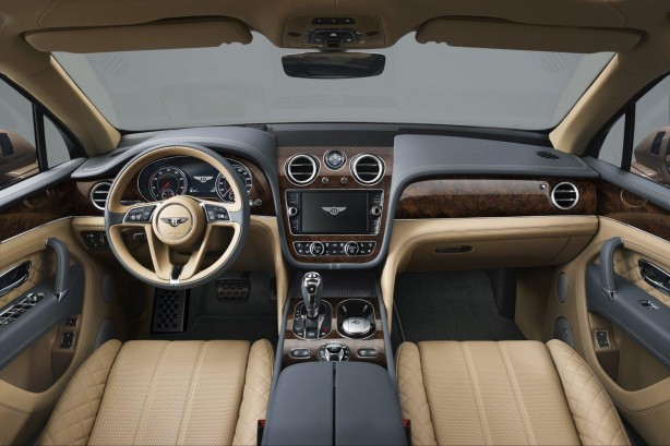 Bentley Bentayga dashboard-1