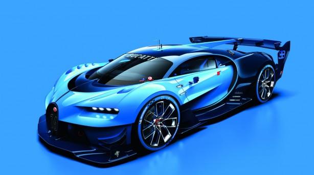 Bugatti Vision Gran Turismo front quarter