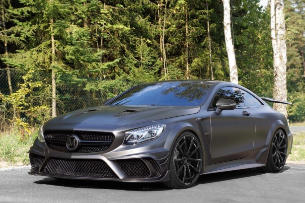 Mercedes-AMG S63 Coupe Black Edition by Mansory front