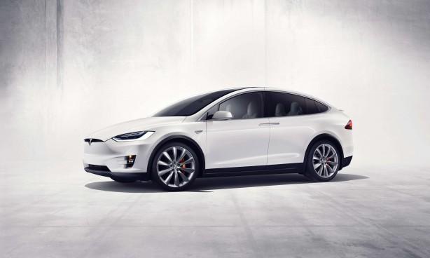 Tesla Model X front quarter