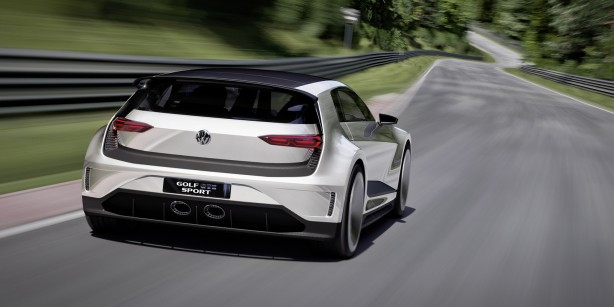 Volkswagen Golf GTE Sport Concept rear